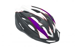 Kask BLAZE white-purple M/L matt